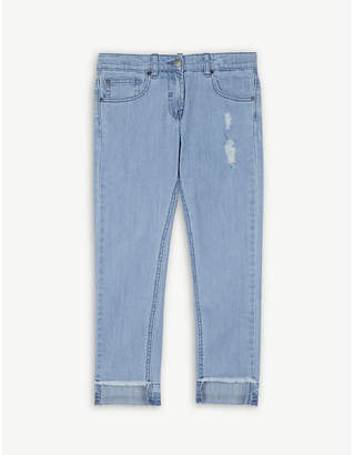 Stella McCartney Worn washed denim jeans 4-16 years