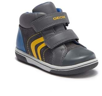Geox Flick Suede-and-Loop Sneaker (Toddler & Little Kid)