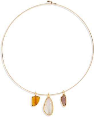 Lizzie Fortunato Best Lady Charm Necklace