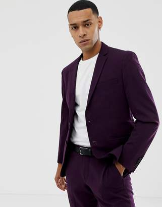 Jack and Jones Slim Fit Suit Jacket With Stretch