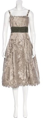 Vera Wang Sleeveless Silk Dress $175 thestylecure.com