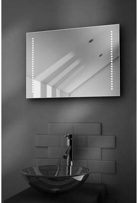 Diamond X Collection Beatrix Battery LED Bathroom Illuminated Mirror With Pull Cord k3