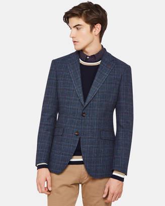 Oxford Blake Wool Blend Checked Blazer
