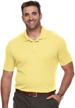Croft & Barrow Big & Tall Classic-Fit Easy-Care Interlock Polo