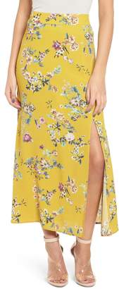 Leith High Waist Midi Skirt