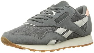 Reebok Women's CL Nylon WR Fashion Sneaker $59.99 thestylecure.com