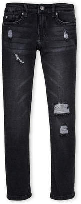 7 For All Mankind Boys 8-20) Eclipse Black Paxtyn Skinny Jeans