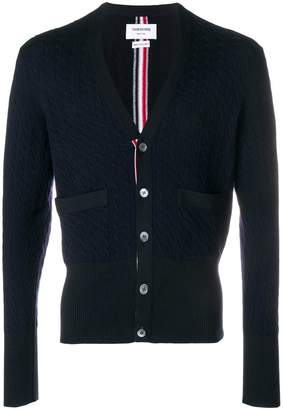 Thom Browne v-neck knit cardigan
