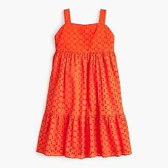 J.Crew Girls' eyelet dress