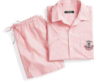 Ralph Lauren Anchor Cotton Sleep Set