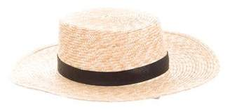 Janessa Leone Woven Straw Hat w/ Tags