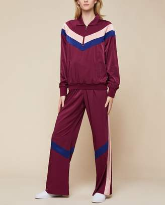 Juicy Couture Colorblock Satin Track Pant