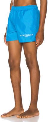 Givenchy Flat Classic Swim Short in Bright Blue | FWRD