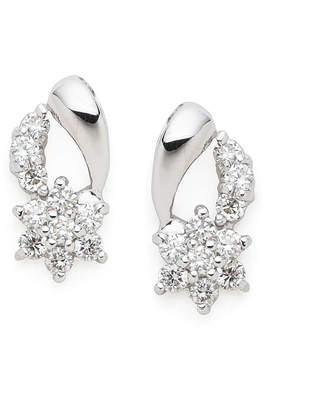 Must-Have Jewelry K18WG ダイヤモンド ピアス ホワイトゴールド