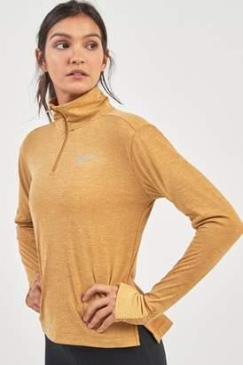 Next Womens Nike Therma Sphere Half Zip Top