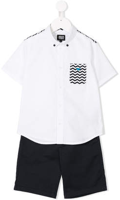 Armani Junior shirt and Bermudas shorts set