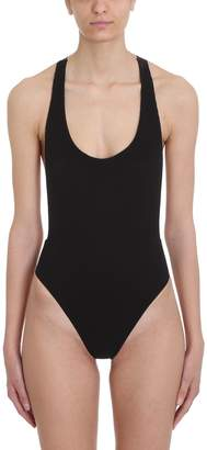 a989224b16 Off-White Off White Cannette Logo Tape Crossback One-piece Swimsuit