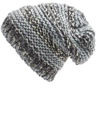 Women's O'Neill Metallic Knit Beanie - Grey $24 thestylecure.com