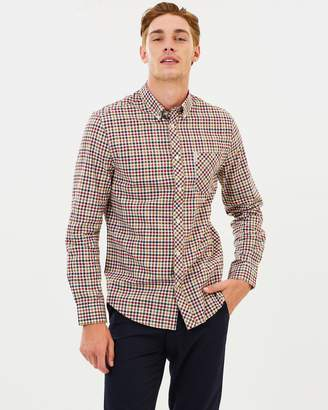 Ben Sherman LS Brushed Multicoloured Gingham Shirt