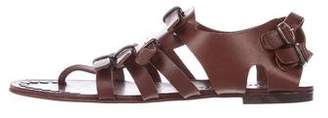 Pedro Garcia Leather Strap Sandals