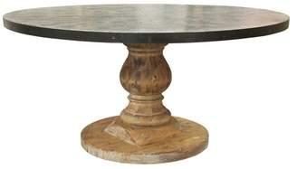 Noir Furniture Zinc Top Table