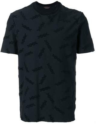 Ermenegildo Zegna XXX logo embellished T-shirt