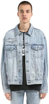 Ksubi Oh G Punk Pin Cotton Denim Jacket