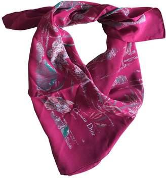 Christian Dior Silk Handkerchief
