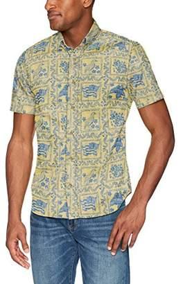 Reyn Spooner Men's Lahaina Sailor Spooner Kloth Tailored Fit Hawaiian Shirt