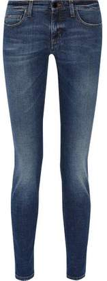 Victoria Beckham Victoria Superskinny Mid-Rise Jeans