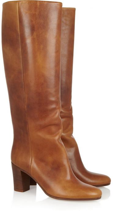 Maison Martin Margiela Leather knee boots