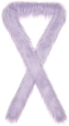 Double Trouble Faux Fur Long Scarf