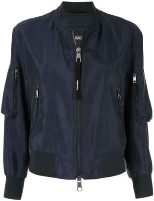Neil Barrett sleeve pockets bomber jacket
