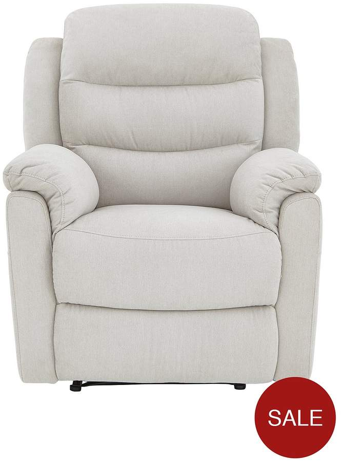Glenn Fabric Manual Recliner Chair