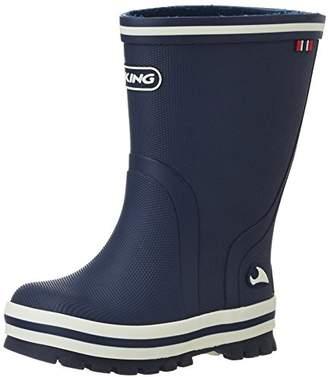 Viking Unisex Kids' Splash Ii Rubber Boots,13 UK (32 EU)