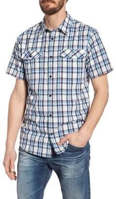 Patagonia High Moss Regular Fit Short Sleeve Sport Shirt