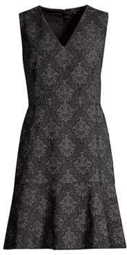 Karla V-Neck Shift Dress