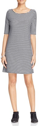 Free People Frenchie Stripe T-Shirt Dress $88 thestylecure.com