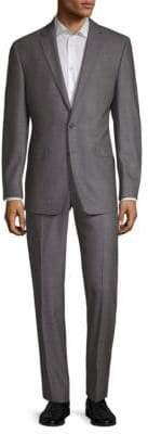Calvin Klein Birdseye Wool Suit