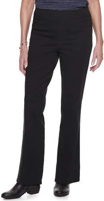 Croft & Barrow Women's Comfort Waist Pull-On Bootcut Jeans