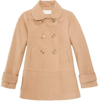 Michael Kors Big Girls Double-Breasted Coat