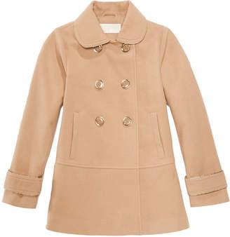 Michael Kors Big Girls Double-Breasted Coat