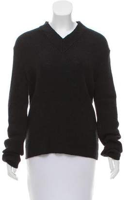 Acne Studios Knit V-Neck Sweater