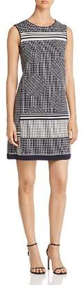 Nic+Zoe Forefront Printed Shift Dress