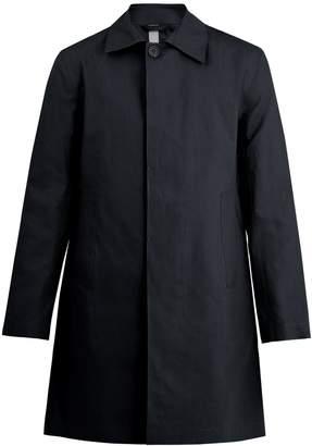 Kilgour Bonded-cotton water-resistant overcoat