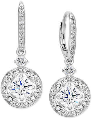 Macy's Danori Silver-Tone Crystal Drop Earrings, Created for