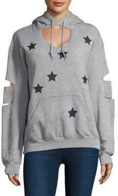 JET Hand-Cut Hooded Fleece Sweatshirt