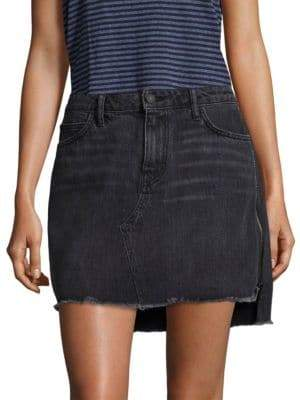 Sandrine Rose Denim Five-Pocket Mini Skirt