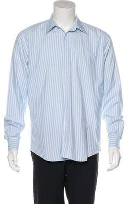 Hermes Striped Button-Up Shirt