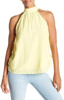 Do & Be Do + Be Side Lace-Up Halter Neck Tank Top
